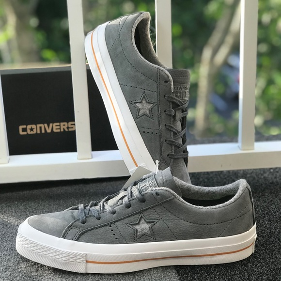 Converse One Star Nubuck OX Thunder W AUTHENTIC 146a45c31